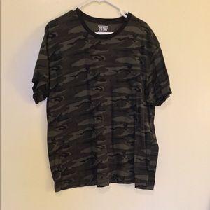 Camo short sleeve tee shirt